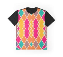 Symmetric rhombus design Graphic T-Shirt