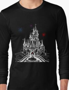Mouse in Love at Midnight Long Sleeve T-Shirt