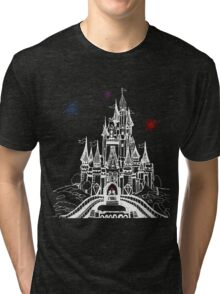 Mouse in Love at Midnight Tri-blend T-Shirt