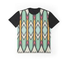 Rhombus and arrows pattern Graphic T-Shirt