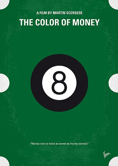 No089 My The color of money minimal movie poster by Chungkong