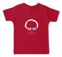 Bernie or Bust (all backgrounds available) Kids Tee