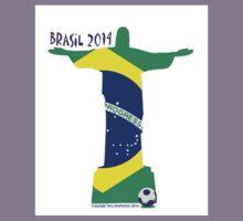 World Cup Jesus. Kids Tee