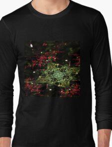Christmas - Abstract Fractal Artwork Long Sleeve T-Shirt