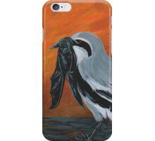 Shrike with Prey iPhone Case/Skin