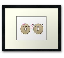 All You Knead Is Love Framed Print
