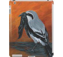 Shrike with Prey iPad Case/Skin