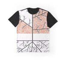 Orange OC-Tree Graphic T-Shirt