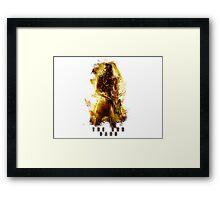 The God Dano Framed Print