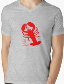 You Are My Lobster (Right) Couples Design Mens V-Neck T-Shirt