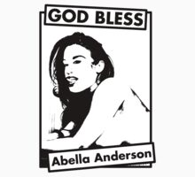 GOD BLESS Abella Anderson by allmyshitdesign