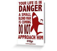 Rin || Danger Greeting Card