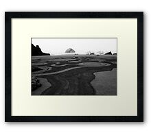 Face Rock No. 2 Framed Print
