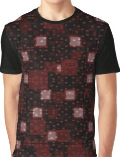 Red Squares Graphic T-Shirt