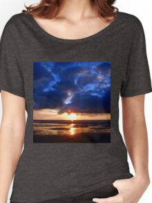 Atlantic Sunset - Biscarrosse Women's Relaxed Fit T-Shirt