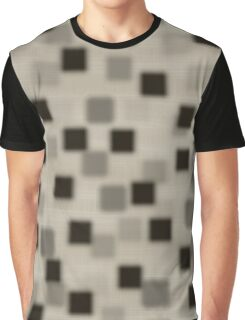 Shaded Squares Graphic T-Shirt