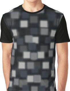 Charcoal Squares Graphic T-Shirt