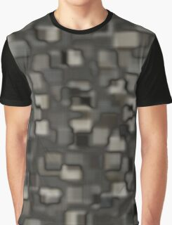 Obsidian Squares Graphic T-Shirt