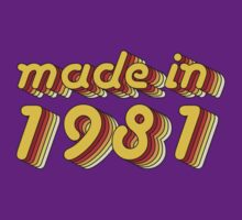 Made in 1981 (Yellow&Red) by ipiapacs