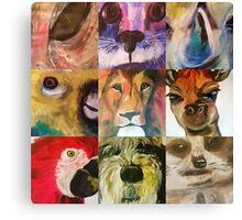 Animal fayre Canvas Print