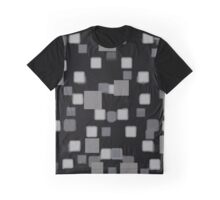 Gray Squares Graphic T-Shirt