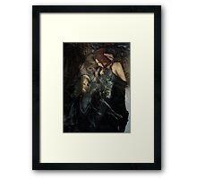 deathly love Framed Print