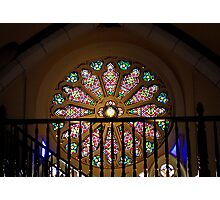 Loretto Chapel Rose Window  Photographic Print