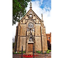 Loretto Chapel in Spring Photographic Print