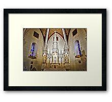 Loretto Chapel Altar Wide C Framed Print