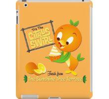 Florida Orange Bird - Disney World iPad Case/Skin