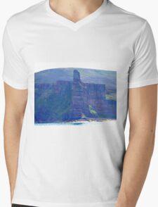 Old Man of Hoy, Hoy, Orkney Islands, Scotland Mens V-Neck T-Shirt
