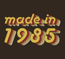 Made in 1985 (Yellow&Red) by ipiapacs