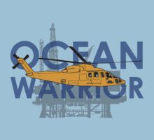Ocean Warrior, S-76 helicopter shirt by JeepsandPlanes