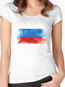 Russia Women's Fitted Scoop T-Shirt