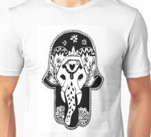 Hamsa and elephant Unisex T-Shirt