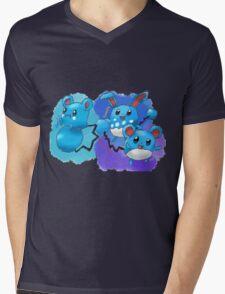 Azurill, Marill & Azumarill Mens V-Neck T-Shirt