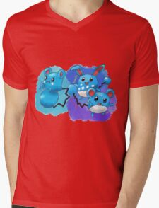 Azurill, Marill & Azumarill Mens V-Neck T-Shirt