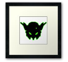 Insignia #2 Green Framed Print