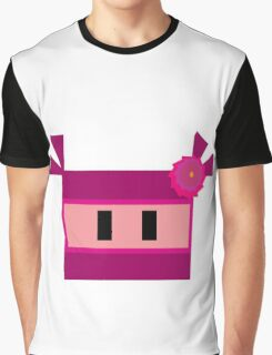 Pink Ninja Graphic T-Shirt