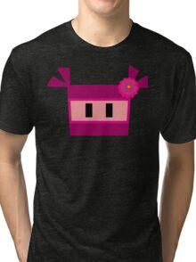 Pink Ninja Tri-blend T-Shirt