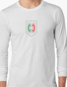 Italy Crest Long Sleeve T-Shirt