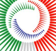 Italy Crest Sticker