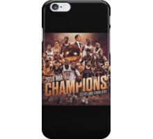 Cleveland cavaliers Champ's iPhone Case/Skin