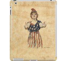 Inviting Patriotism iPad Case/Skin