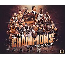 Cleveland cavaliers Champ's Photographic Print