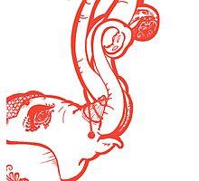 Indian Octophant by AshKatzArt