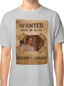 Buffy Joyce Wanted (The First)  Classic T-Shirt