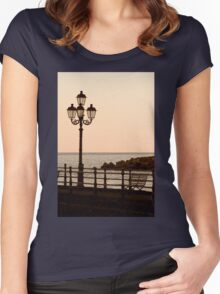 Sit And Watch The Sun Go Down Women's Fitted Scoop T-Shirt