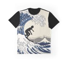 The Great Surfer of Kanagawa Graphic T-Shirt