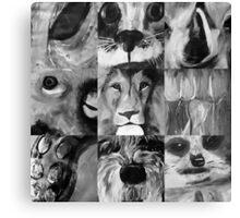 Animal Portraits #2 Canvas Print